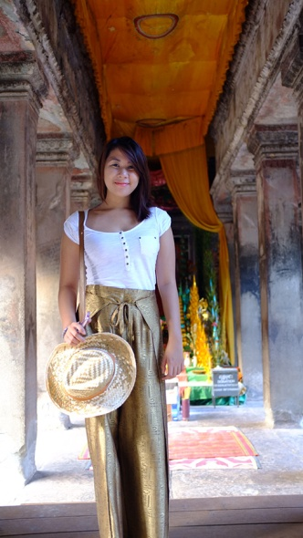 Cambodian pants