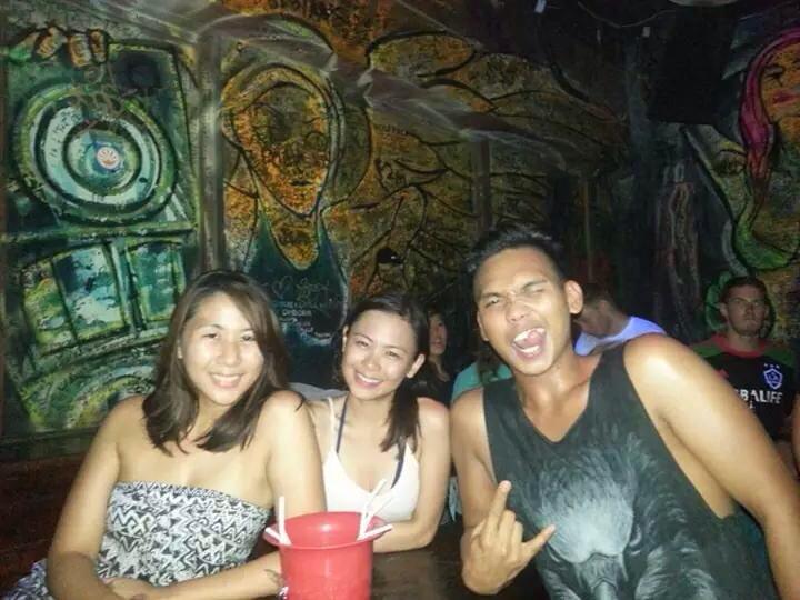 Berlin, Aya and I at Pub Street, Cambodia | Postcardpretty.com