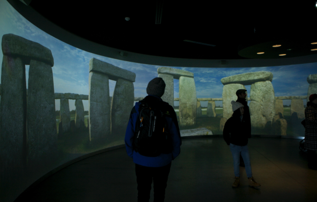 360-degree-projection-visitor-centre-stonehenge