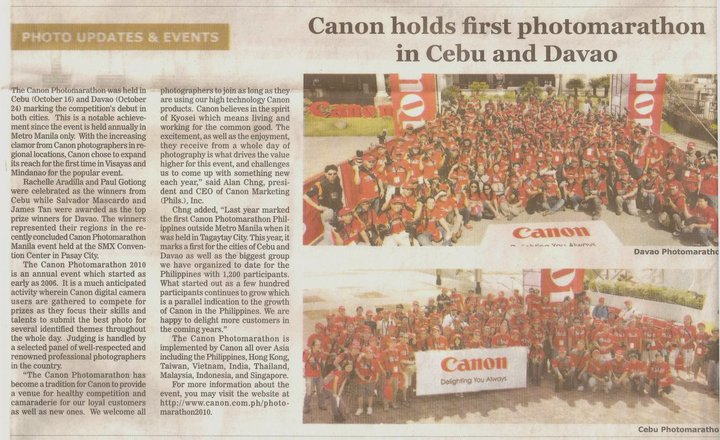 article on canon