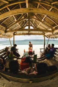 Lunch at Daku Island (All photos by Zeke Sullano)