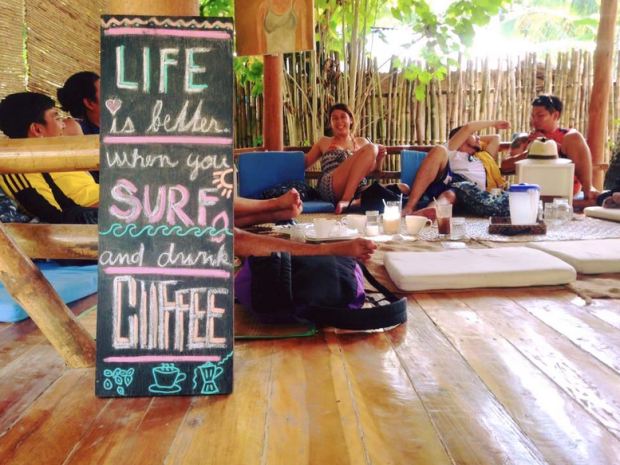 pleasure point surf cafe siargao philippines