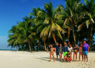Guyam Island is our last island destination. Small, but beautiful! (Photo Credit: Fonso Martinez)