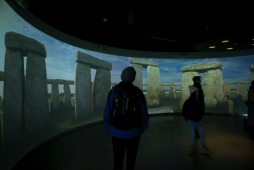 museum stonehenge center england