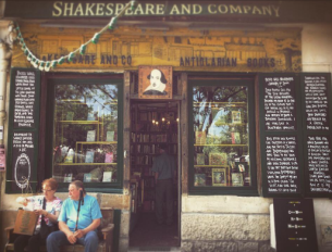 shakespeare bookshop paris