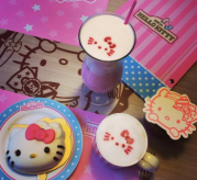 hello kitty cafe taipei taiwan