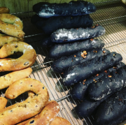 taipei squid ink bread