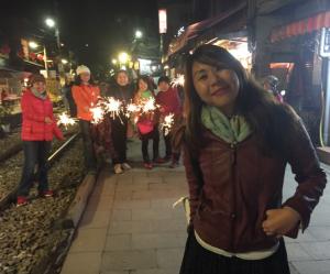 photobombing pixie sticks shifen taiwan