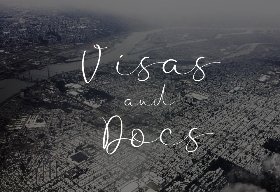 visas and docs