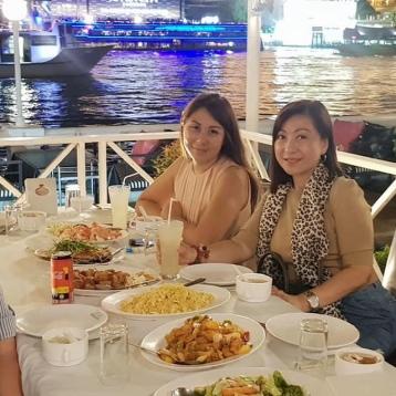 dinner bangkok thailand BKK famtour