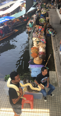floating market two hour ride away