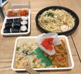 korean convenience store food