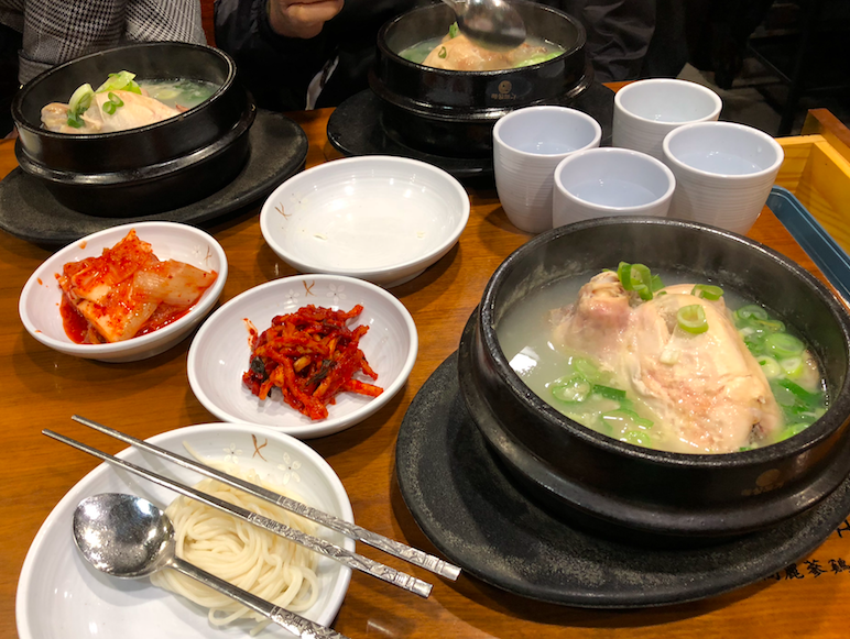 korean ginseng soup