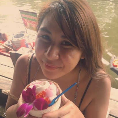 thai coconut ice cream postcardpretty