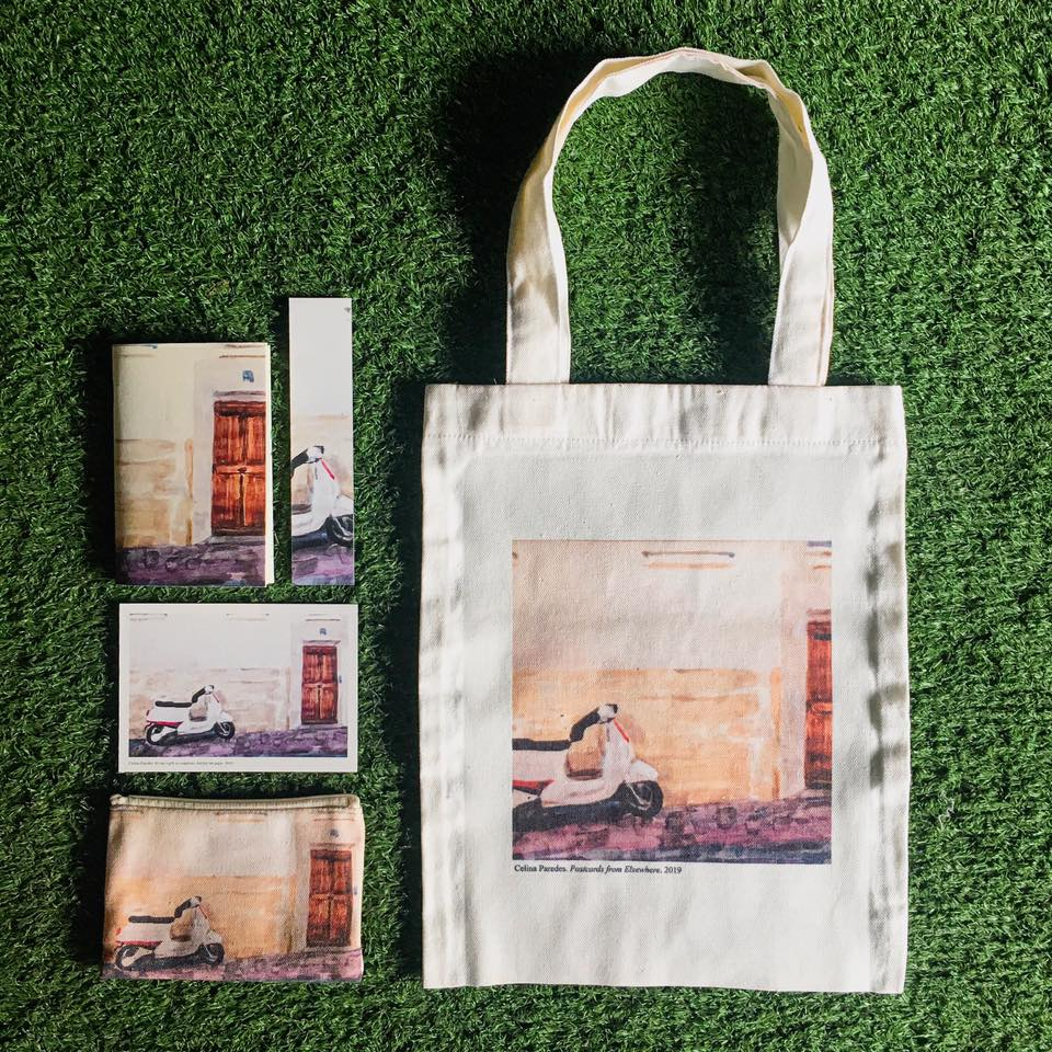 postcards from elsewhere merchandise