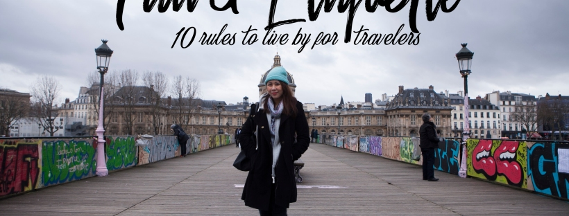 Travel Etiquette for Travelers | Postcardpretty.com