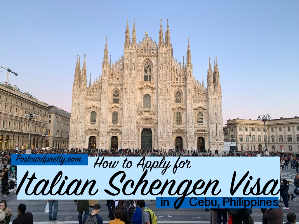 Italy Schengen Visa in Cebu
